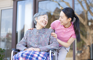 Companionship to Elderly with gentle nursing care